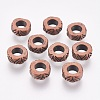 Metal Alloy European Beads X-RLF8287Y-NF-1