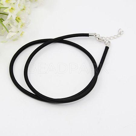 Silk Cord NecklacesX-NFS005-20-1