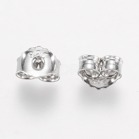 925 Sterling Silver Ear Nuts STER-E057-06P-1