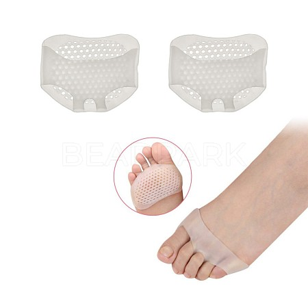 Reusable Gel Silicone Honeycomb Forefoot PadMRMJ-S035-082-1