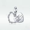 925 Sterling Silver European Dangle BeadsSTER-FF0013-05-2