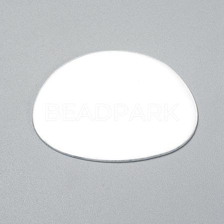 Oval Shape MirrorDIY-WH0170-52-1