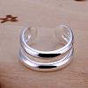 Trendy Adjustable Brass Cuff RingsRJEW-BB13221-1
