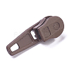 Spray Painted Alloy Replacement Zipper SlidersPALLOY-WH0067-97X-2
