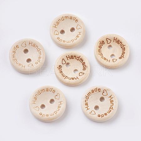 Wooden ButtonsBUTT-K007-11A-1