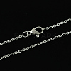 316 Stainless Steel Cable Chains NecklacesX-STAS-S029-02-2