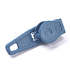 Spray Painted Alloy Replacement Zipper SlidersPALLOY-WH0067-97C-2