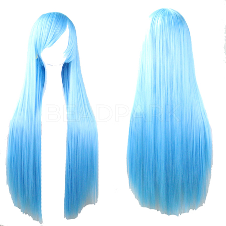 31.5inches(80cm) Long Straight Cosplay Party WigsOHAR-I015-11B-1