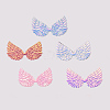Glittery Angel Wings PatchesDIY-WH0148-98-M-1