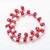 Handmade Lampwork Beads StrandsX-LAMP-Q001-9-3