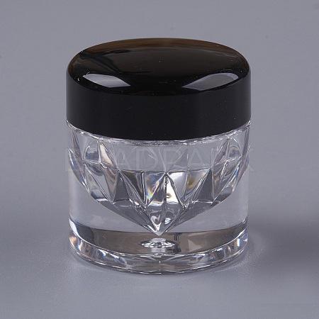 Mini Diamond Shape Loose Powder Bottle with SifterMRMJ-WH0008-03-1