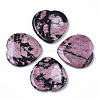 Natural Rhodonite Thumb Worry StoneG-N0325-01B-1