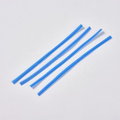 PE Nose Bridge Wire for Mouth CoverX-AJEW-E034-59B-01-1