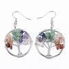 Brass Jewelry SetsSJEW-K072-20L-4
