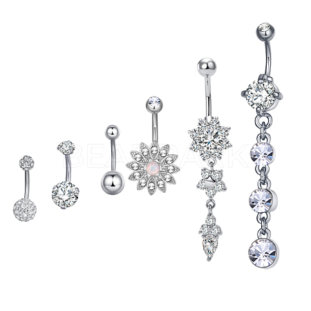 Brass Piercing JewelryAJEW-EE0006-82P-1