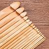 BENECREAT Bamboo Crochet HooksTOOL-BC0005-01-6