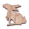 Wooden CabochonsX-WOOD-S040-79-2