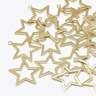 Brass PendantsKK-N200-007-1