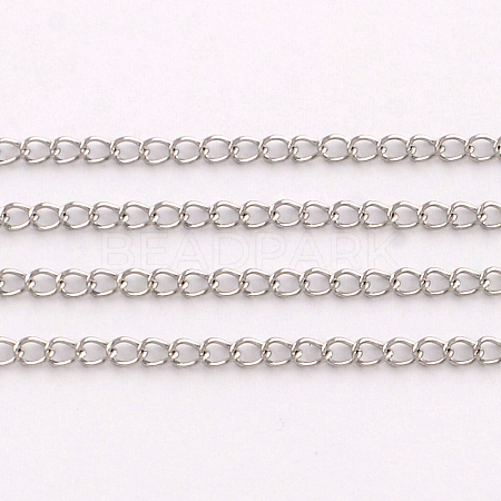 Stainless Steel Curb ChainsCHS-Q001-11-1