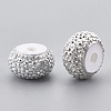 Resin Rhinestone Beads X-RESI-T020-01A-03-2