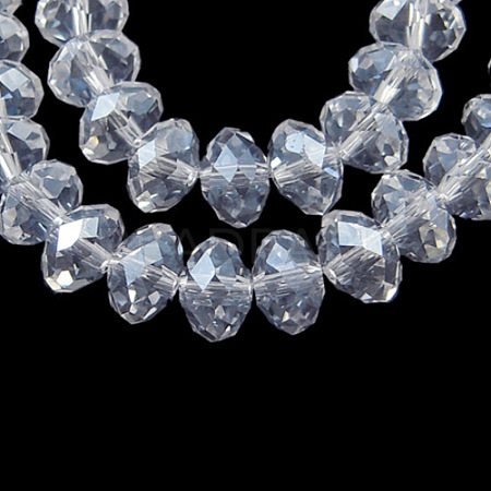 Glass Beads Strands X-EGLA-GR4MMY-01L-1