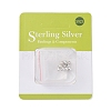 Sterling Silver Spacer BeadsX-STER-K171-47S-4mm-3