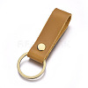 Cowhide Leather Keychain KEYC-WH0014-A03-1