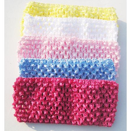 Cotton Elastic Baby HeadbandsOHAR-S197-045-1