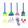 Painting Tools Sets For Children AJEW-L072-07-4