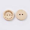 Wooden ButtonsBUTT-K007-08C-3